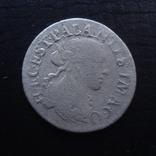 1/12  экю  1668  княжество Домб  Франция  серебро    ($4.6.16)~, фото №2