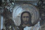 Старинная икона под стеклом (34х30 см), фото №4