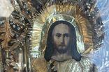 Старинная икона под стеклом (32х36 см), фото №5