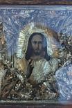 Старинная икона под стеклом (32х36 см), фото №10