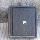 Старинная икона под стеклом (32х36 см), фото №13
