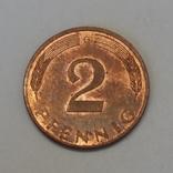 Німеччина 2 пфеніга, 1992