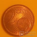 Італія 2 євроценти, 2002