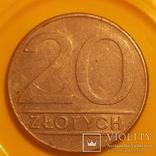 Польща 20 злотих, 1988