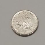 Франція ½ франка, 1968