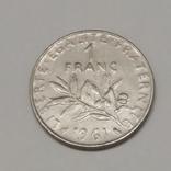 Франція 1 франк, 1961