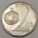 Чехія 2 крони, 1993