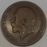Велика Британія 1 пенні, 1921
