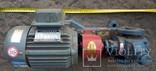 Двигатель с насосом, фото №7