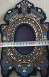 Фоторамка. Серебро, разноцветные эмали., фото №4