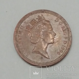 Велика Британія 1 пенні, 1996