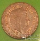 Велика Британія 1 пенні, 1998