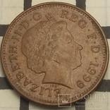Велика Британія 1 пенні, 1999