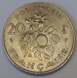 Французька Полінезія 20 франків, 1975