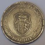 Туніс 1 динар, 1997