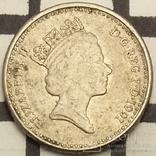 Велика Британія 5 пенсів, 1991
