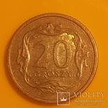 Польща 20 грошей, 2004