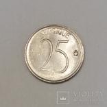 Бельгія 25 сантимів, 1975