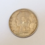 Бельгія 1 франк, 1968