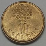 Португалія 10 ескудо, 1987