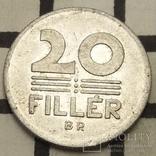 Угорщина 20 філерів, 1985