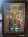 Большая икона Николай Чудотворец 2, фото №2