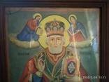 Большая икона Николай Чудотворец 2, фото №3