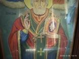 Большая икона Николай Чудотворец 2, фото №4