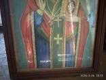 Большая икона Николай Чудотворец 2, фото №5