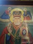 Большая икона Николай Чудотворец 2, фото №6