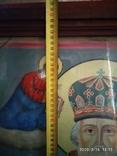 Большая икона Николай Чудотворец 2, фото №7
