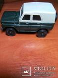 Модель пластмасова УАЗ 469 м. Виготовлена в СРСР. Продається без коробки., фото №3