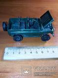 Модель пластмасова УАЗ 469 м. Виготовлена в СРСР. Продається без коробки., фото №10