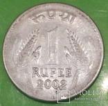 Індія 1 рупія, 2002