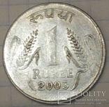 Індія 1 рупія, 2003