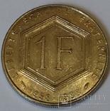 Франція 1 франк, 1988 30-та річниця - П'ята Республіка