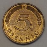 Німеччина 5 пфенігів, 1995