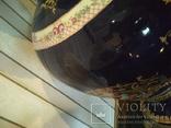 Ваза большая Роскошная фарфор шпиатр 81 см, фото №3