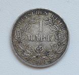 1 марка 1900 г. (А), Германия, серебро, фото №4