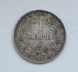 1 марка 1900 г. (А), Германия, серебро, фото №5