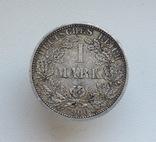 1 марка 1900 г. (А), Германия, серебро, фото №6
