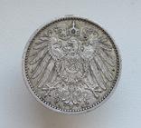 1 марка 1900 г. (А), Германия, серебро, фото №8