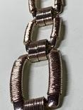 Винтажный золотистый браслет с Англии, фото №5