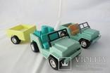 Машинки с прицепом СССР(Латвия завод Страуме), фото №2