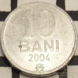 Молдова 10 бані, 2004