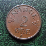 2  эре  1953  Норвегия   (6.2.17)~, фото №3