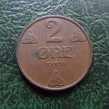 2  эре  1951  Норвегия   (6.2.20)~, фото №2