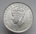 Британская Малайя 20 центов 1939 г.,, фото №7