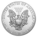 Серебро США.1 унция серебра (31.1 гр.).Эксклюзив!Тираж 100 монет! фото 2