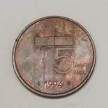 Нідерланди 5 центів, 1994 фото 2